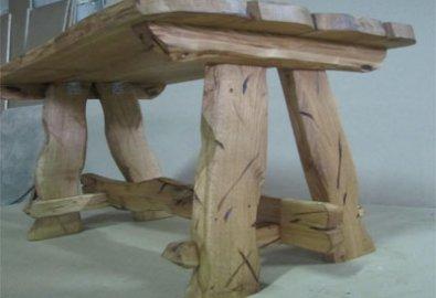 Стол деревянный светлый